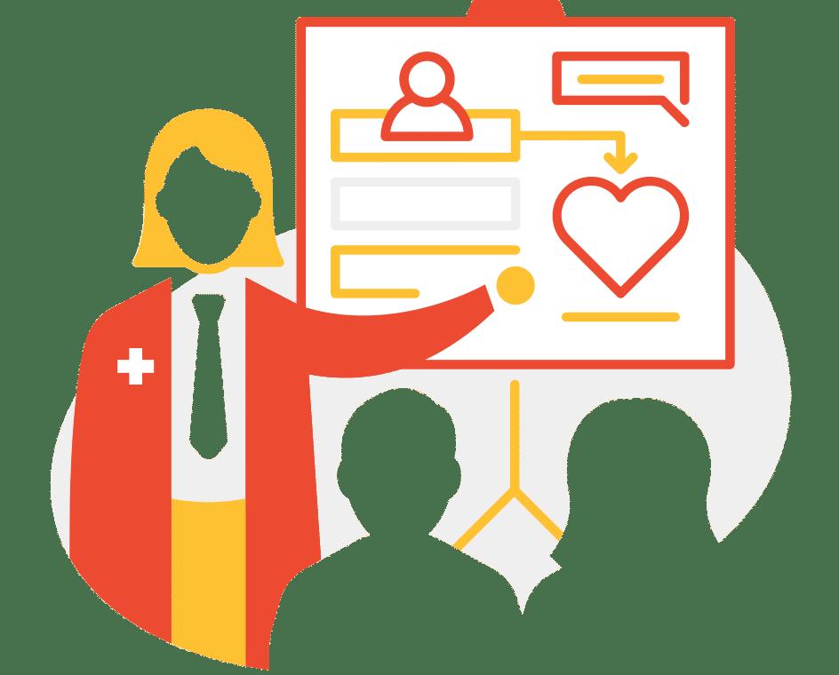 Develop skills to discuss prevention